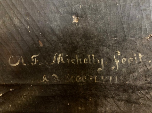 A. F. Michelly's signature